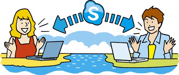Skype Visual
